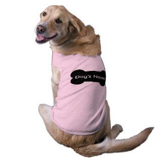 Camiseta Roupa personalizada do animal de estimação para
