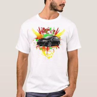 Camiseta Roupa preto de 2011 WRX Impreza