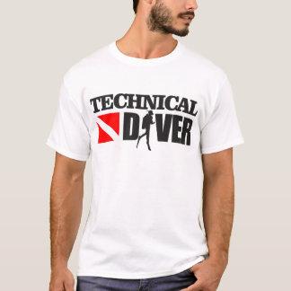 Camiseta Roupa técnico do mergulhador 2