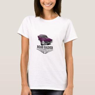 Camiseta roxo do cuco terrestre australiano