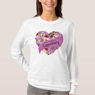 Camiseta Roxo do Cupcakery de Natasha