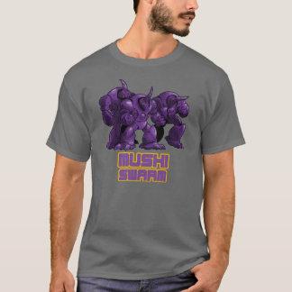 Camiseta Roxo do enxame de Mushi