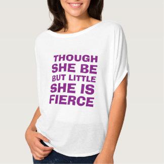 """Camiseta Roxo """"é a camisa"""" das mulheres ferozes"""