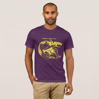 "Camiseta Roxo e ouro ""T do estilo do vintage da albufeira""!"