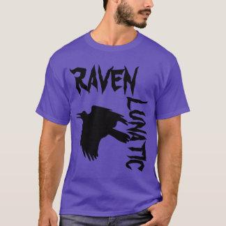 Camiseta Roxo excêntrico do corvo
