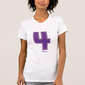Camiseta Roxo feminino quatro