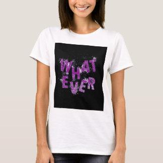 Camiseta Roxo o que quer que