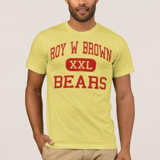 Camiseta Roy W Brown - ursos - meio - Bergenfield