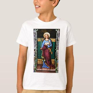 Camiseta Rua Agnes de Roma, guardarando o cordeiro e a