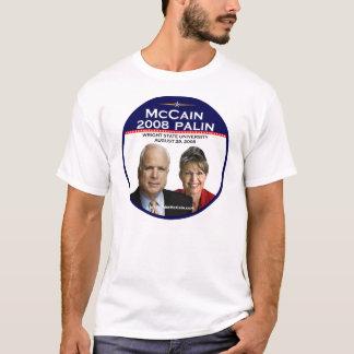 Camiseta Rua comemorativa de Wright do anúncio do Paulin de
