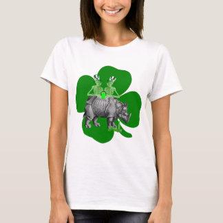 Camiseta Rua irlandesa Patricks da equipe engraçada do