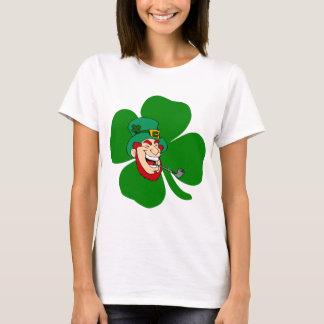 Camiseta Rua irlandesa Patricks do leprechaun engraçado
