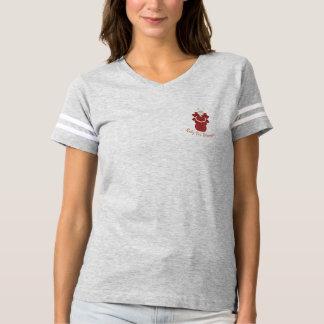Camiseta Rubi para o anjo do vermelho das mulheres