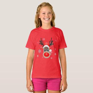 Camiseta Rudolf - rena do Natal