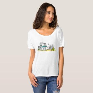 Camiseta Ruínas antigas subaquáticas