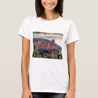 Camiseta Ruínas famosas do castelo, Heidelberg, Alemanha