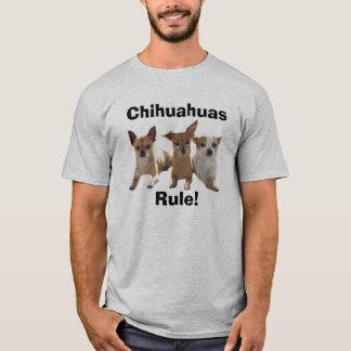 Camiseta RuleT-Camisa das chihuahuas
