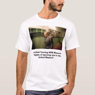 Camiseta Rumsfeld que visita o museu de KGB