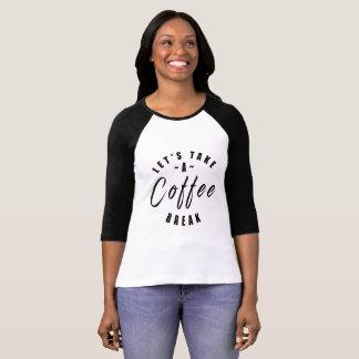 Camiseta Ruptura de café