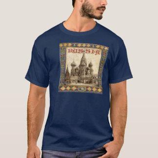 Camiseta Rússia, manjericão do St.