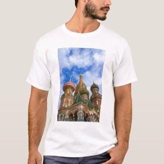 Camiseta Rússia, Moscovo, quadrado vermelho, manjericão do