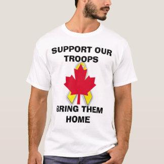 Camiseta s45new, canadian.gif novo, APOIAM NOSSO TROOPSBRI…