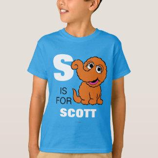Camiseta S é para Snuffleupagus | adiciona seu nome