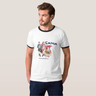 Camiseta S.N.M.N. O t-shirt dos homens do Podcast