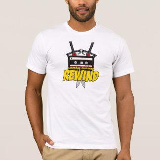 Camiseta Sábado de manhã rebobinação (desenhos animados