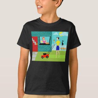 Camiseta Sábado de manhã t-shirt retro