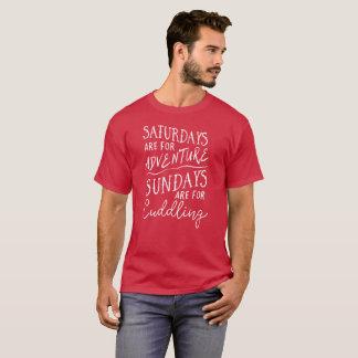 Camiseta Sábados são para o divertimento do fim de semana
