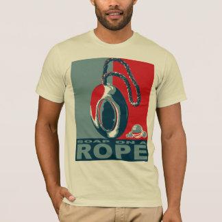Camiseta Sabão em uma corda