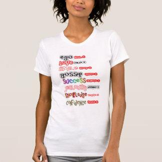Camiseta Sabedoria alternativa das citações do texto do