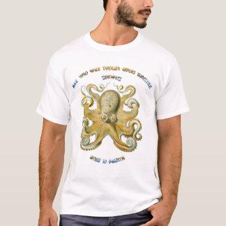 Camiseta Sabedoria chinesa do polvo