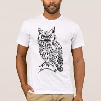 Camiseta Sabedoria do ás - coruja de Bokuto - versão do