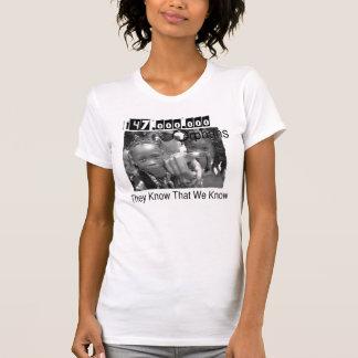 Camiseta Saber que nós sabemos o T