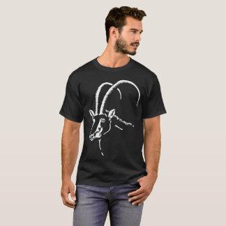 Camiseta Sable preto, símbolo de Angola