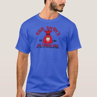 Camiseta saco do demónio de shen 6 do ovo
