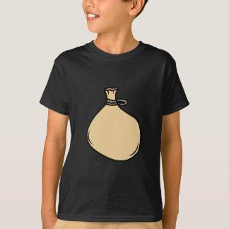 Camiseta Saco medieval do saco de Brown