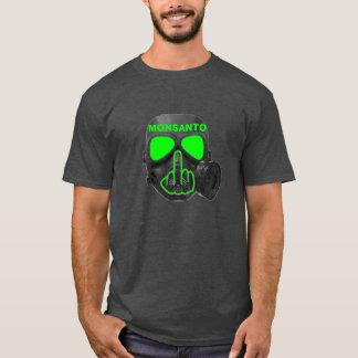 Camiseta Sacudir da máscara de gás de Monsanto do t-shirt