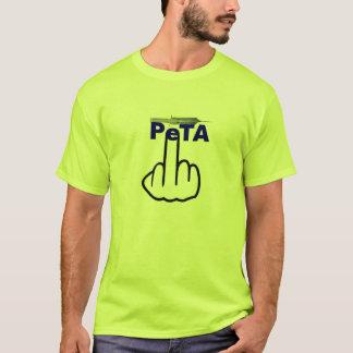 Camiseta Sacudir de Peta do t-shirt