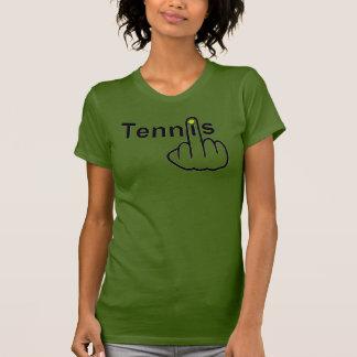Camiseta Sacudir do tênis do t-shirt