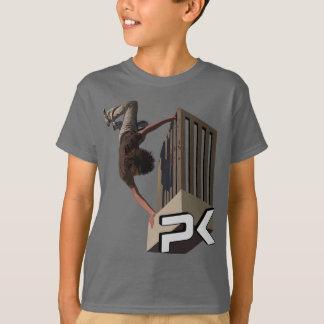 Camiseta Sacudir do trilho de Parkour