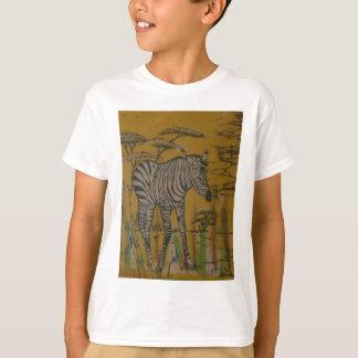 Camiseta Safari africano Zebra.png de Kenya da vida