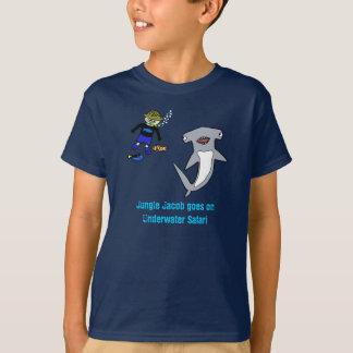 Camiseta Safari subaquático