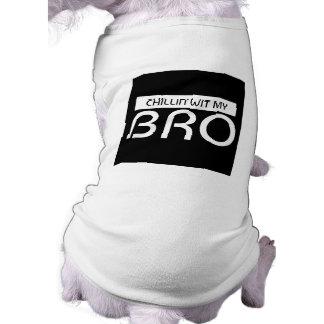 Camiseta Sagacidade de Chillin meu tanque do animal de