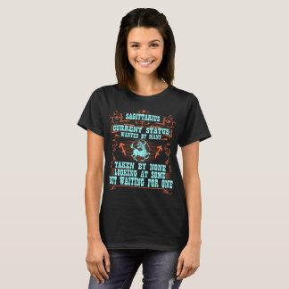Camiseta Sagitário querido por muitos tomados por nenhuns o