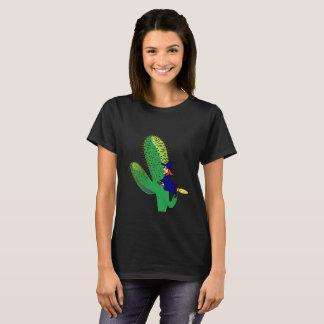 Camiseta Saguaro do deserto da bruxa do vôo do deleite do