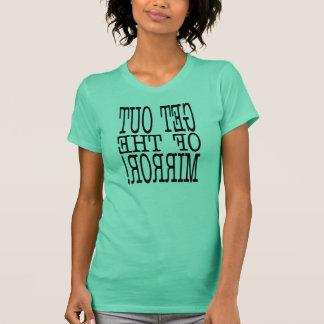 Camiseta saia do espelho