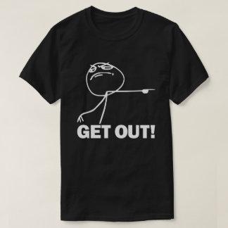 Camiseta Saia! T-shirt de Meme
